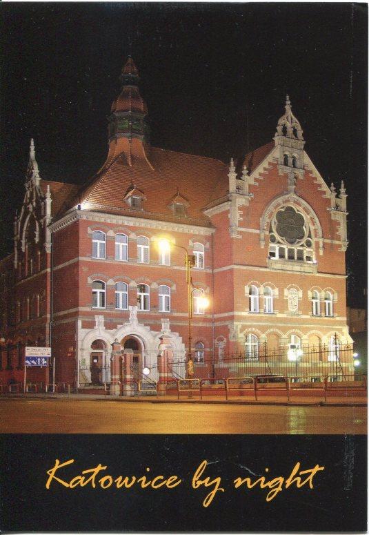 Poland - Katowice at night