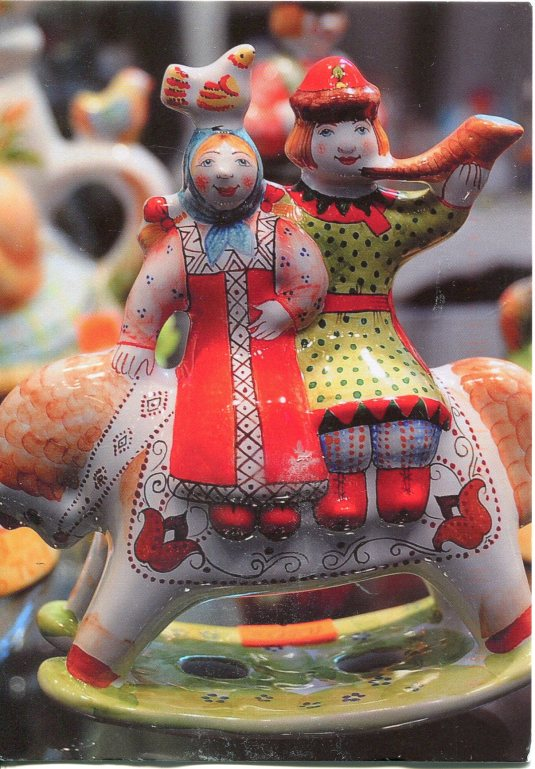 Russia - Folk Figurines