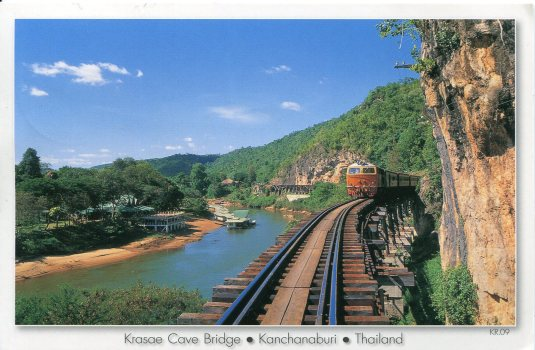 Thailand - Krasai Cave Bridge Train