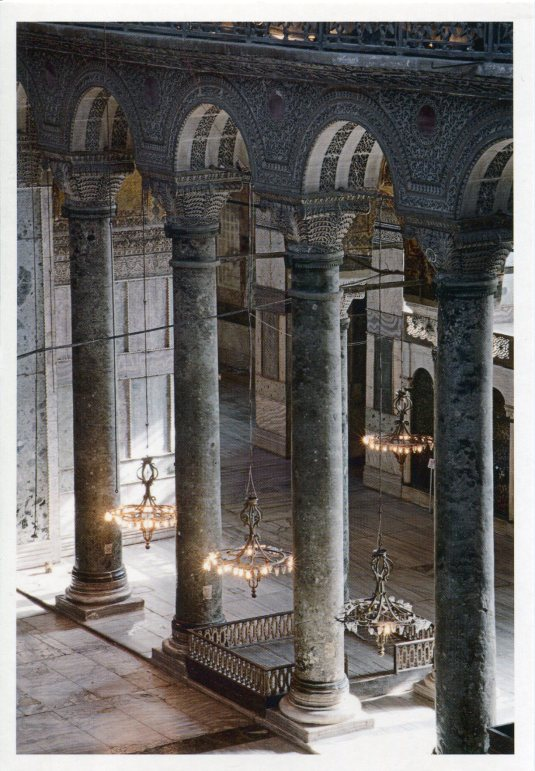 Turkey - Interior of Hagia Sophia