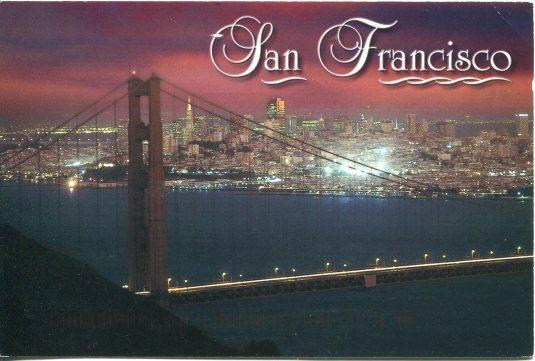 USA - California - Golden Gate Bridge at Night