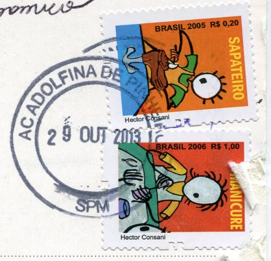 Brazil - Sao Paulo Met Cathedral stamps