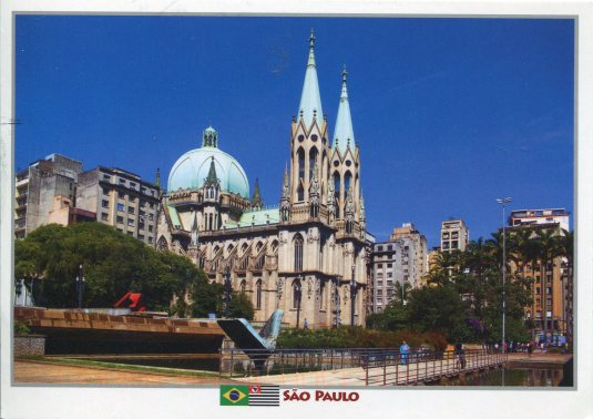 Brazil - Sao Paulo Met Cathedral