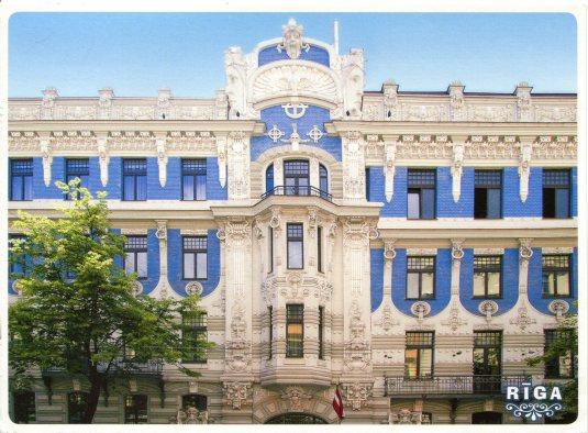 Latvia - Riga Art Nouveau Builings