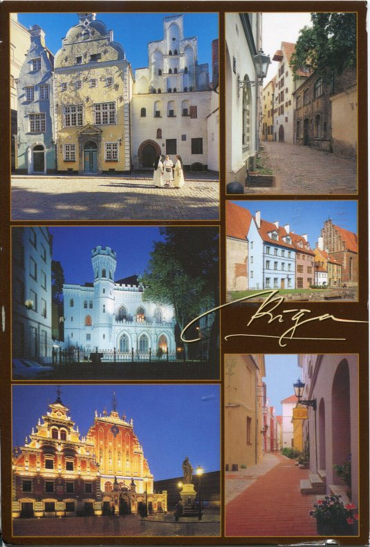 Latvia - Riga multi
