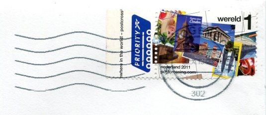 Netherlands - Viaai stamp