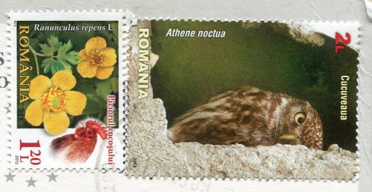 Romania - Putna Monastery stamps