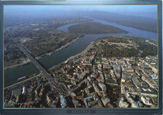 Serbia - Belgrade aerial