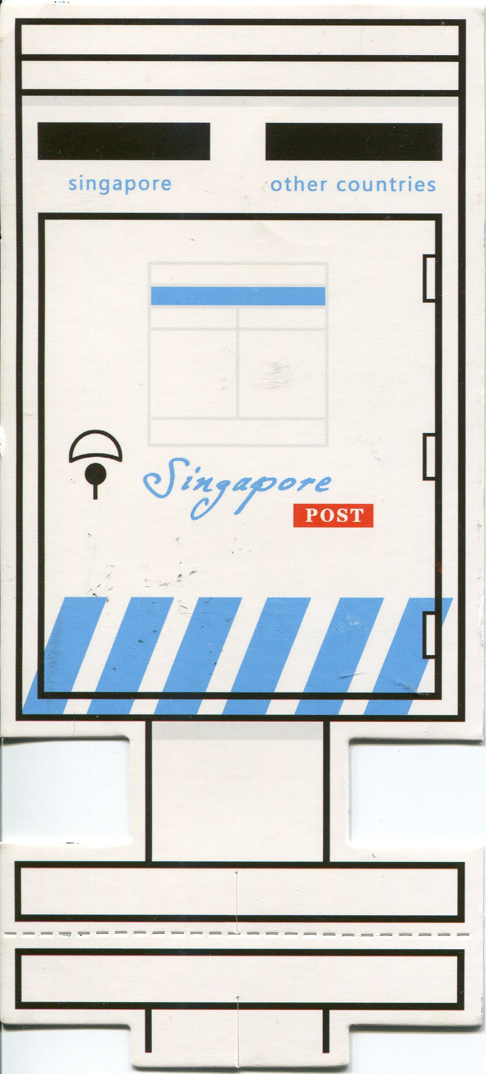 Singapore remembering letters and postcards for What to do with old mailbox