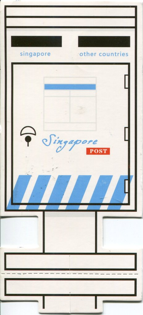 Singapore - Cut out Postal Box