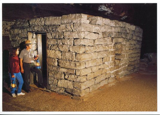 USA - Kentucky - Mammoth Cave NP TB huts