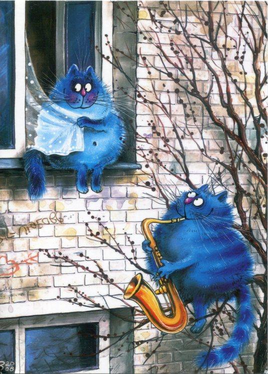 Belarus - Romancing Cats