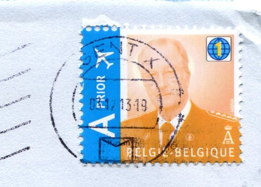 Belgium - Cartoon stamps