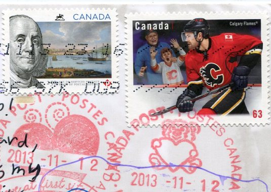 Canada - Big Horn Sheep stamps