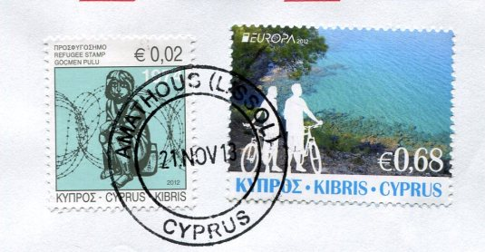 Cyprus - Shepherd and Sheep stamps