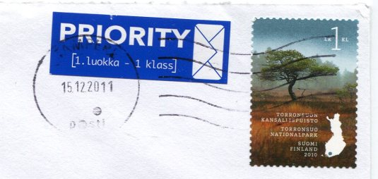 Finland - Painting stamps