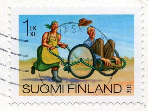 Finland -Turku Castle stamps