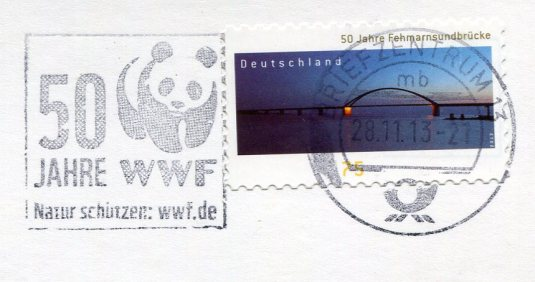 Germany - ad card and train stamps
