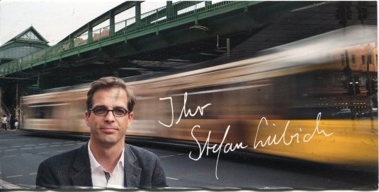 Germany - ad card and train