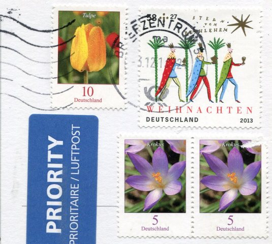 Germany - Lindau Lighthouse stamps