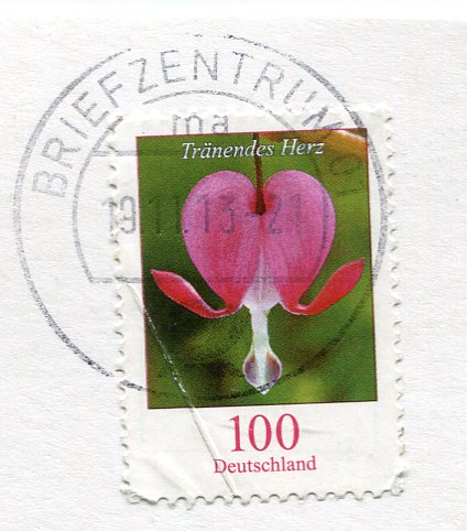 Germany -Painting stamps