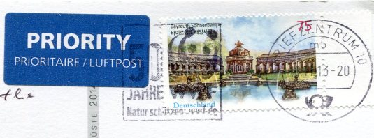 Germany - Rugen East sea stamps