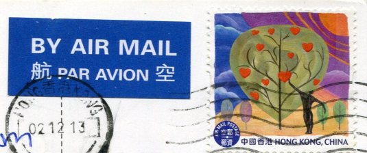 Hong Kong - Mao Cartoon stamps