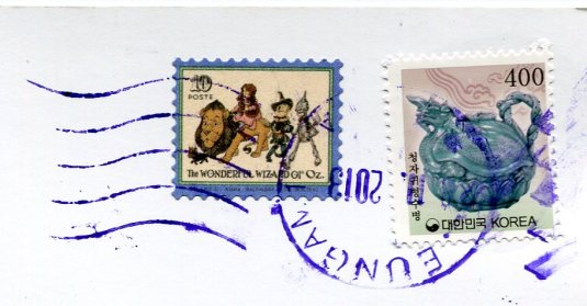Korea - Doksu Palace stamps