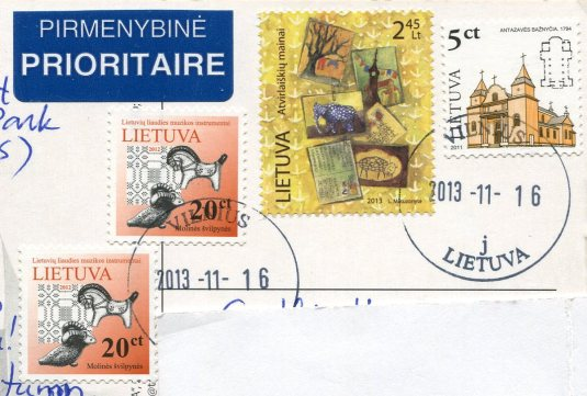 Lithuania - Fishermen's Village stamps