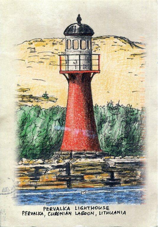 Lithuania - Pervalka Lighthouse