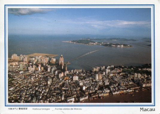 Macao - Aerial view