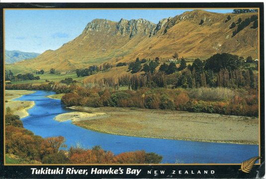 New Zealand - Tukituki River