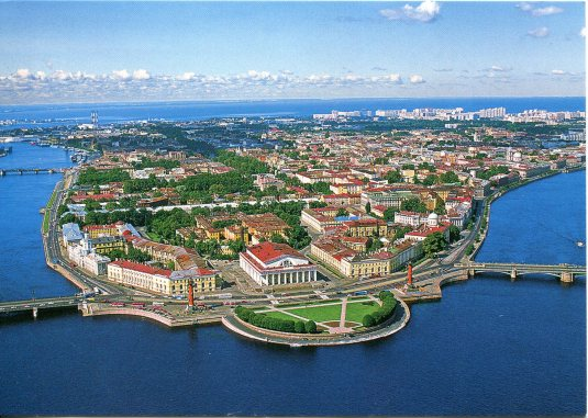 Russia - the Spit of Vasilyevsky Island