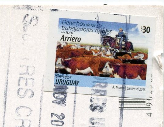 Uruguay - Salvo Palace stamps
