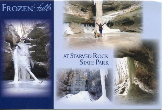 USA - Illinois - Frozen Falls Starved Rock State Park
