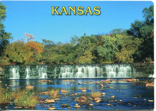 USA - Kansas - Drury Dam