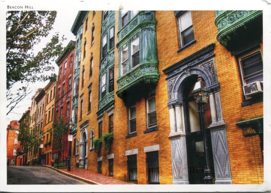 USA - Massachusetts - Myrtle St, Beacon Hill, Boston