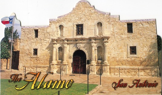 USA - Texas - Alamo Shaped
