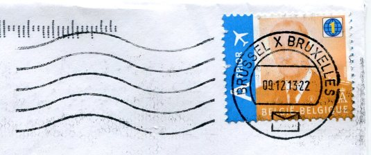 Belgium - Christmas card stamps