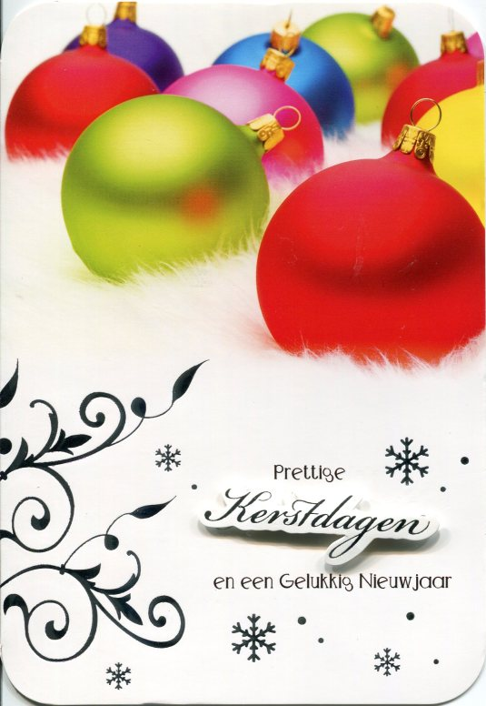 Belgium - Christmas card