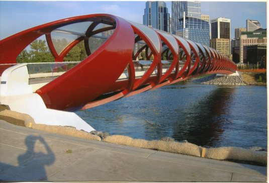 Canada - Calgary Pedestrian Bike Bridge