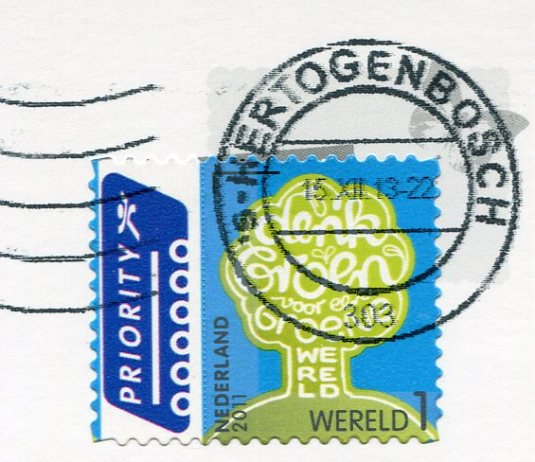 Germany - Christmas mitten stamps