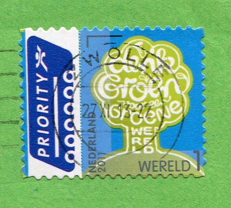 Netherlands - Train historic stamps