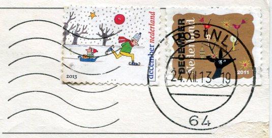 Netherlands - Vlieland LH stamps
