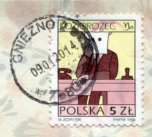 Poland - Folk Art Images stamps