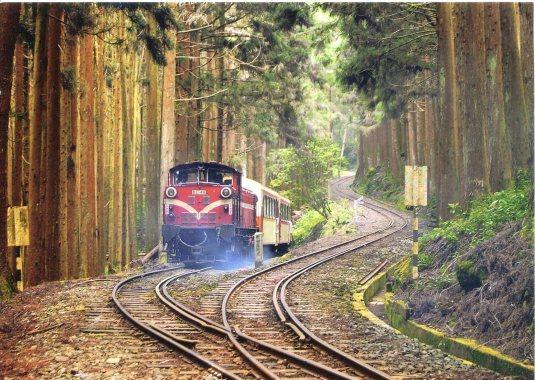 Taiwan - Alishan Forest Railway