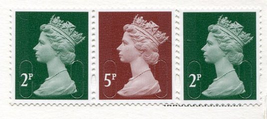 UK - London Tower Bridge stamps