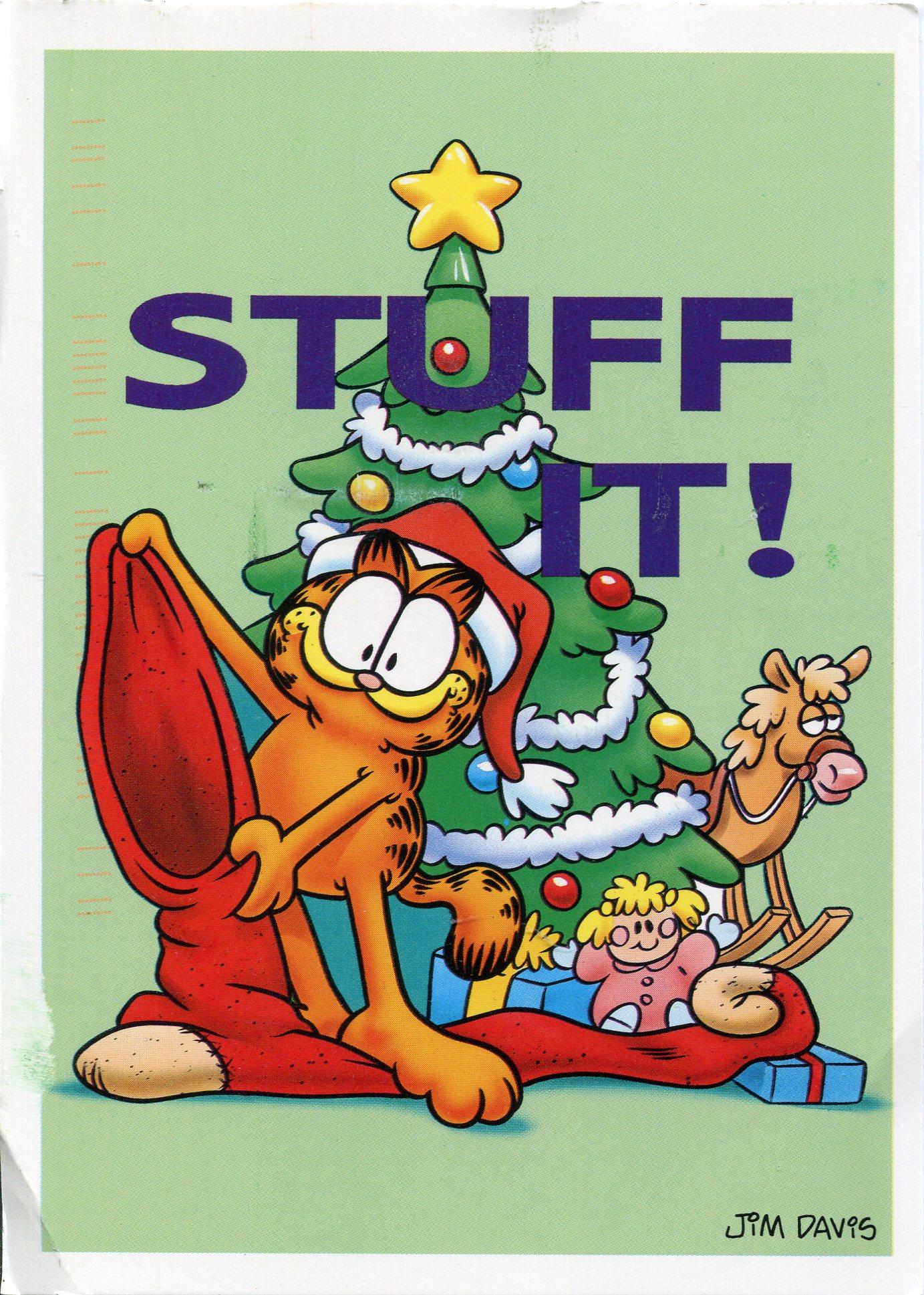 garfield christmas: