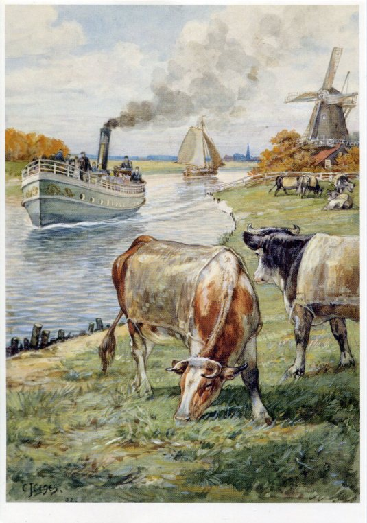 Netherlands - Painting Cornelis Jetses