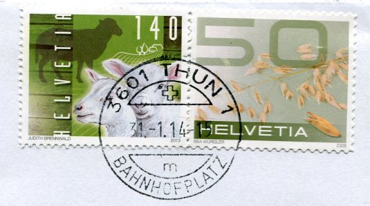 Switzerland - Thun stamps